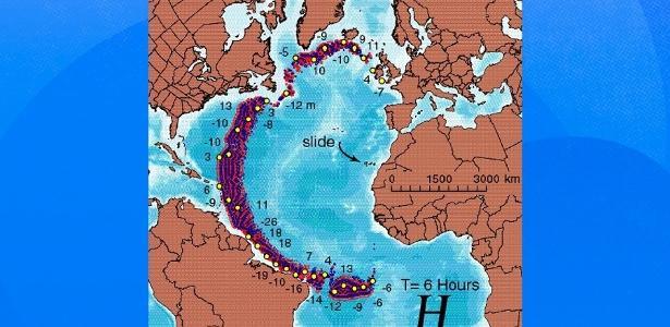 Tsunami atingiria o Brasil 9h após erupção explosiva de vulcão; veja